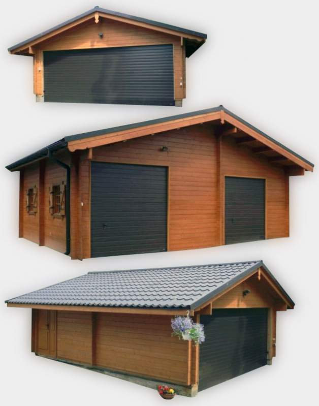 Kupić Garaże drewniane