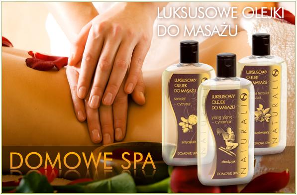 Kupić Domowe SPA olejki do masażu
