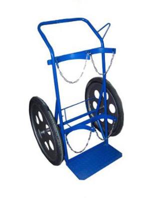 Kupić Wózek do transportu dwóch butli z gazem technicznym na kołach 17''