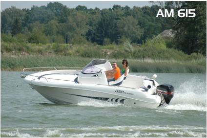 Kupić Łódź motorowa AM 615