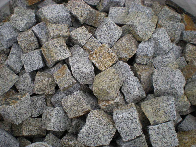 Kupić Kostka granitowa Szaro-Ruda
