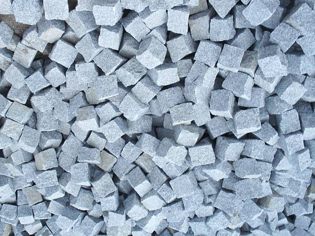 Kupić Kostka granitowa Surowo-łupana