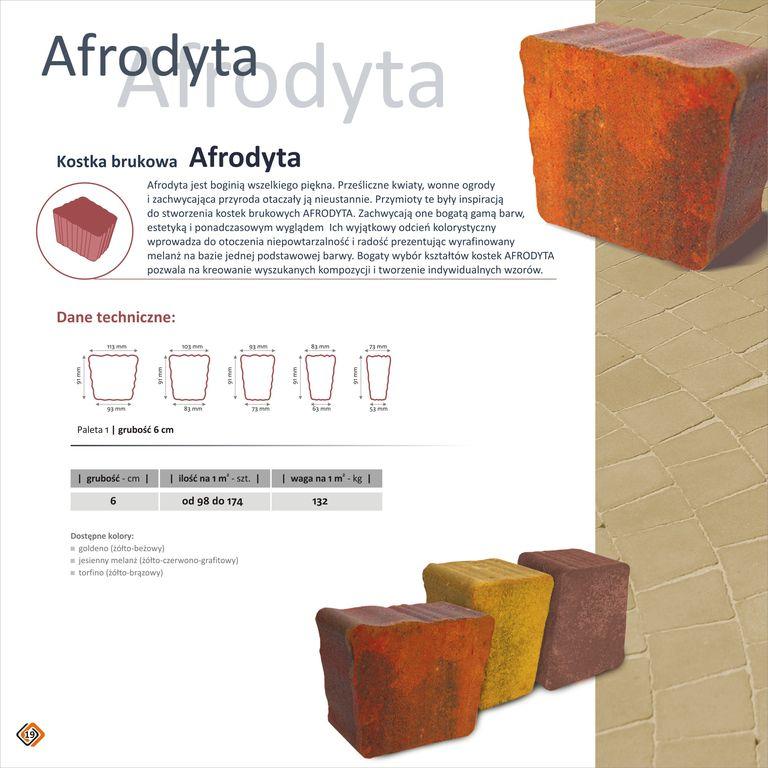 Kupić Kostki melanż Afrodyta