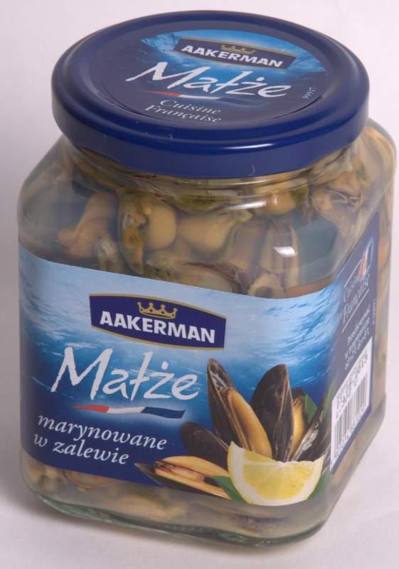 Kupić Małże marynowane 350g, Marinated mussels 350g