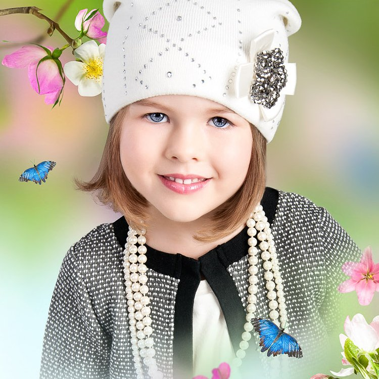 Kupić Wiosenne czapki dla dzieci i niemowląt