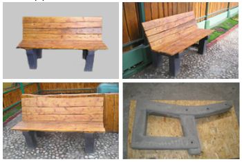 Kupić Galanteria betonowa- atrakcyjne ławki betonowe.