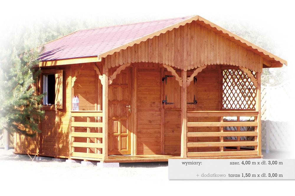Domki drewniane D4