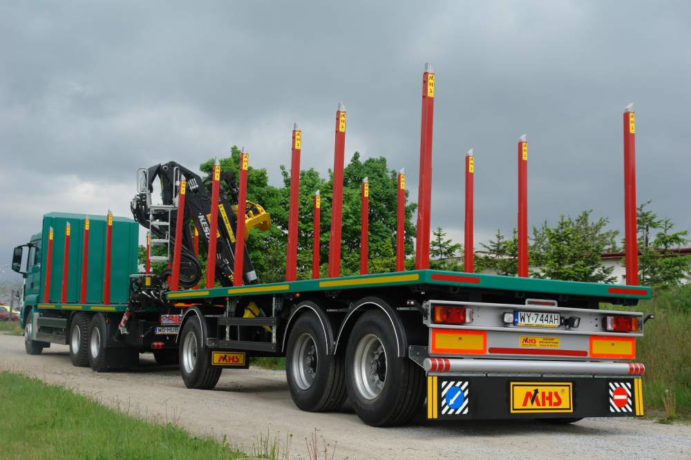 Kupić Zabudowy do transportu drewna