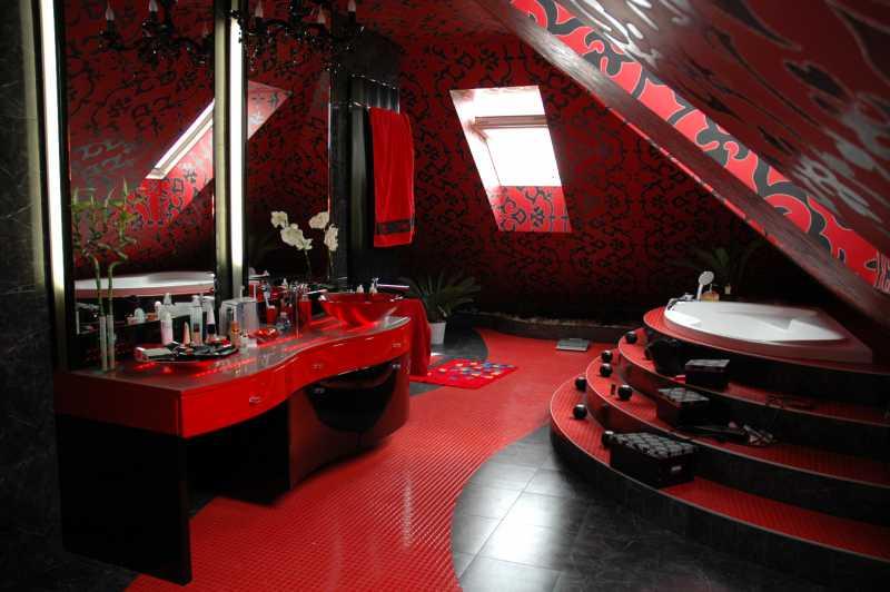 łazienki Lakier Czarny Czerwony Kupić W Bielsko Biała