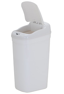 Kupić Kosz na śmieci 27 L Prostokąt Bezdotykowy DZT-27-1 Biały