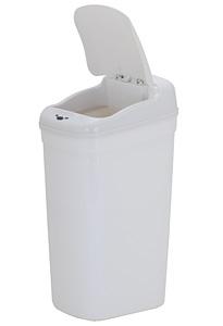 Kupić Kosz na śmieci 33 L Prostokąt, Bezdotykowy DZT-33-1 Biały