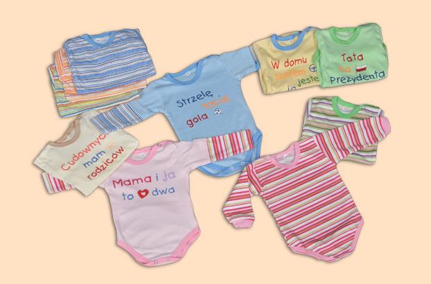 Kupić Body niemowlęce