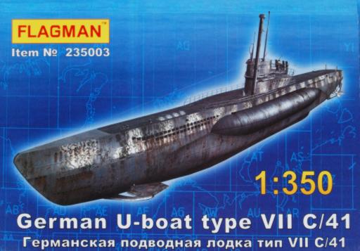 Kupić Flagman 235003 - U-boat Type VII C/41 1/350