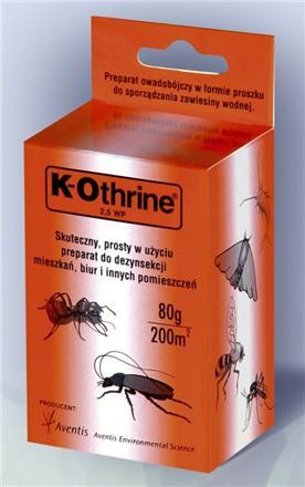 Kupić Preparat na owady 30g K – OTHRINE WP 25