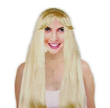 Kupić Peruka blond Rusałka Syrenka lub Hippiska