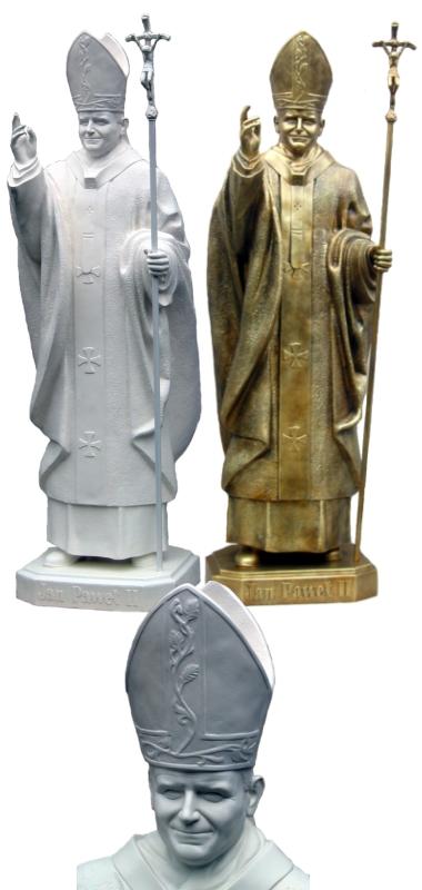 Kupić Rzeźba JAN PAWEŁ II - ID 104