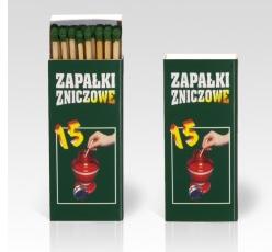 Kupię Zapałki do zniczy i świec ZZ-15/86.