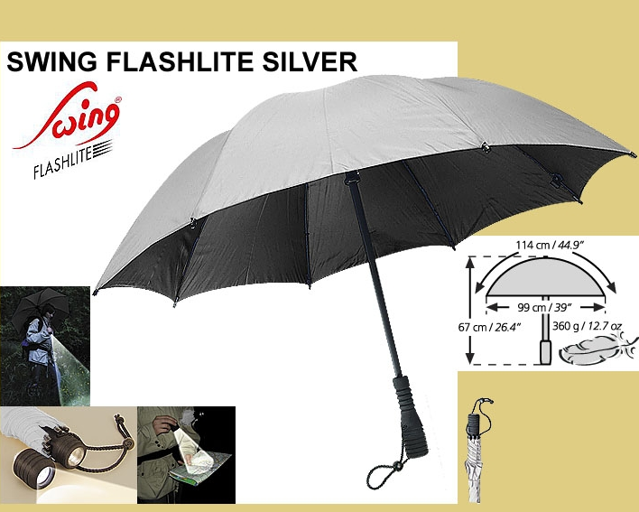 Parasolka Swing Flashlite