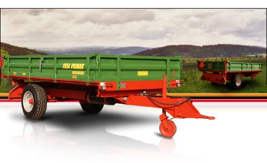 Kupić Przyczepa Pronar T654