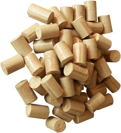Kupić Brykiet drzewno, ekobrykiet z materiału palnego takiego jak trociny, węgiel drzewny, torf, słomy czy miał węglowy.