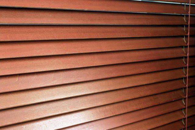 Kupić Żaluzje poziome drewniane 25 mm