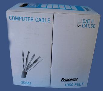 Kupić Przewód komputerowy 4X2 FTP LINK.E CU 5E (PR)