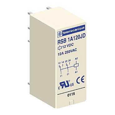 Kupić Przekaźnik interfejsowy 2C/O 24V DC, 8A ; RSB2A080BD