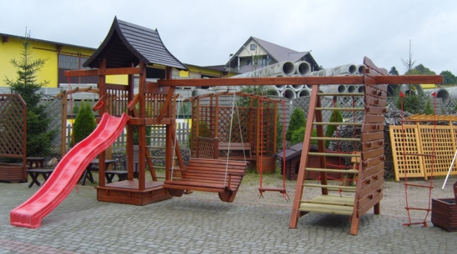 Kupić Dziecięce meble ogrodowe, bezpieczne dla dzieci z wysokiej jakości drewna
