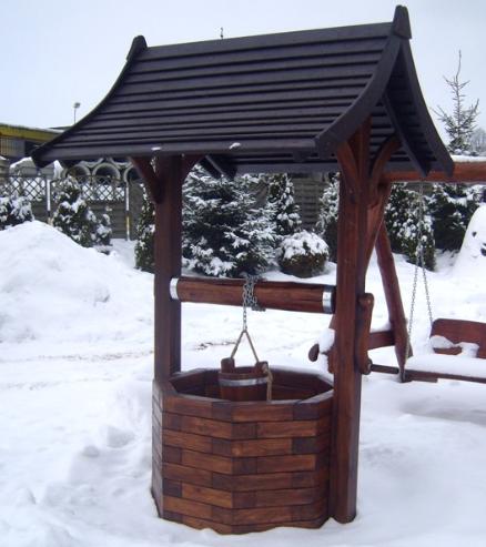 Kupić Meble i wyposażenie ogrodów z wysokiej jakości drewna.