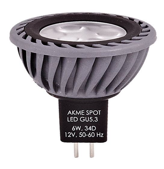 Kupić Lampa Led Akme Spot Led MR16 6W