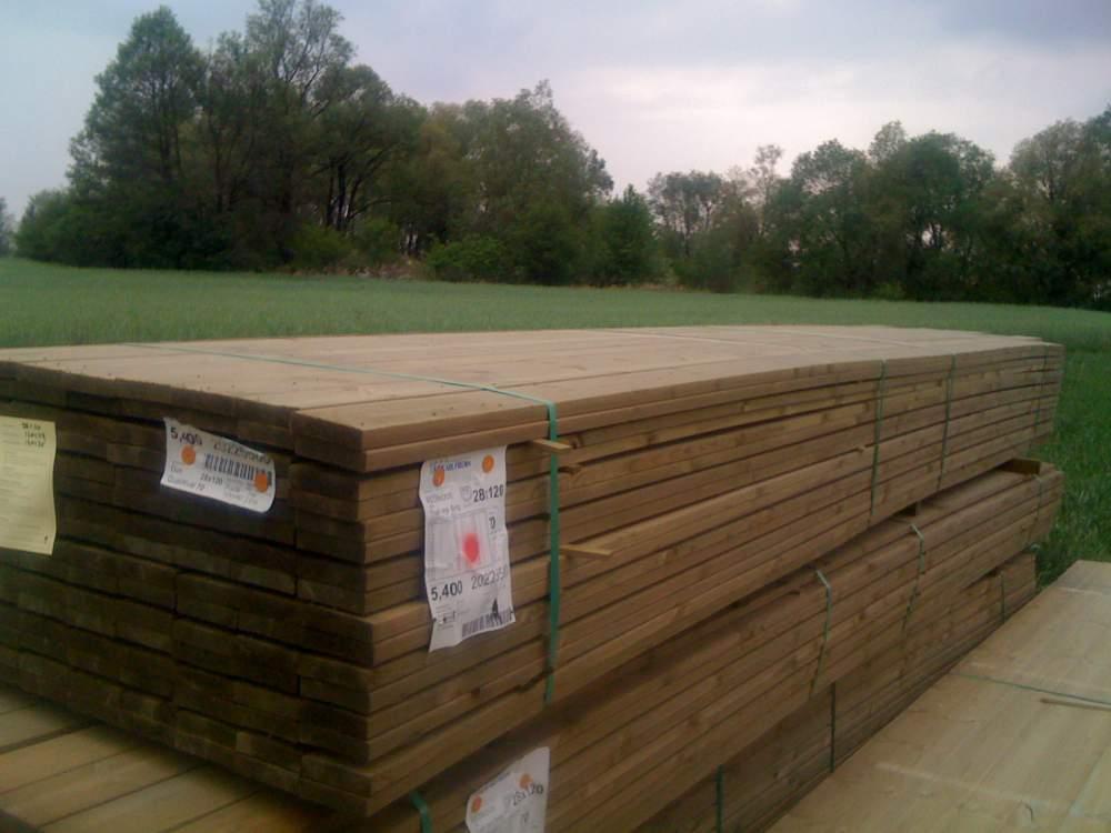 Kupić Bauholz, Holz druckimprägniert, Holz aus Skandinavien