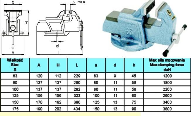 Kupić Imadła ślusarskie (Typ 1250) oraz (TYP- 1251)