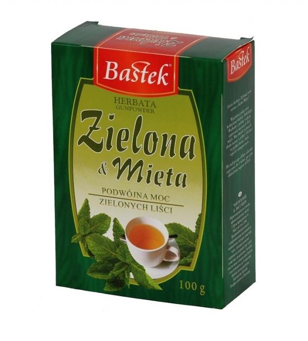 Kupić Herbata zielona z miętą 100 g