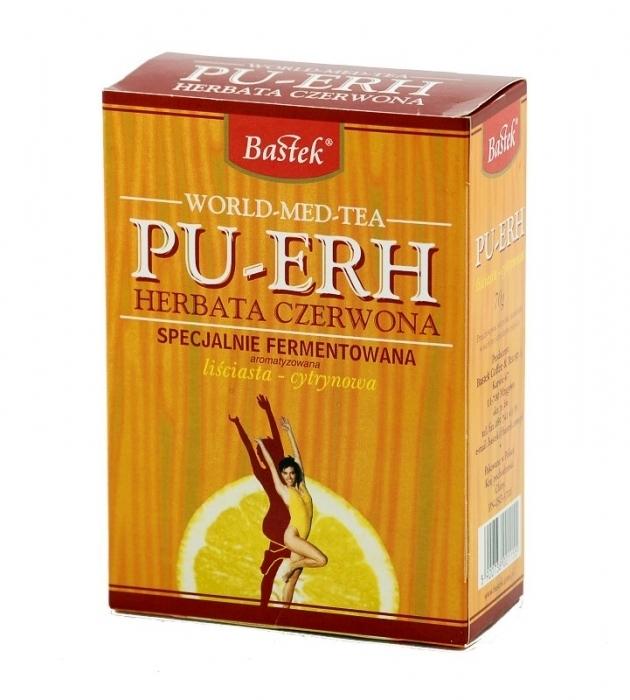 Kupić Herbata czerwona Pu-Erh z cytryną 70 g