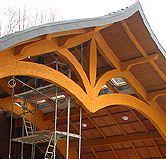 Kupić Elementy konstrukcyjne z drewna litego i klejonego warstwowo.