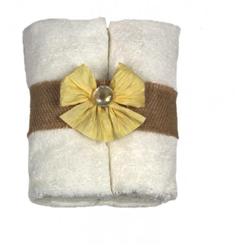 Kupić Ręcznik Bambusowy Biały 50x100cm