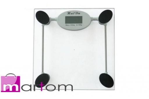 Kupić Elektroniczna szklana waga łazienkowa do150 KG FV