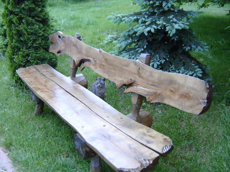 Kupić Ława ogrodowa z litego drewna