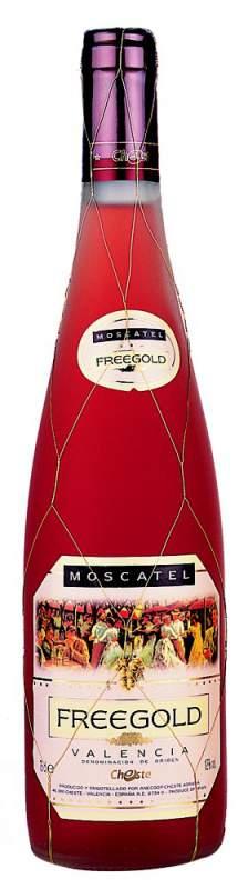 Kupić Wino Freegold Moscatel DO Valencia różowe słodkie