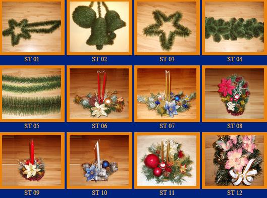 Kupić Ozdoby świąteczne i stroiki różnego rodzaju