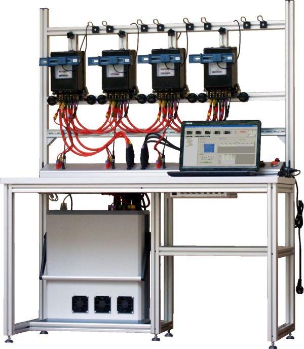 Kupić TB40 Trójfazowa 4- stanowiskowa stacjonarna stacja wzorcownicza do testowania liczników energii