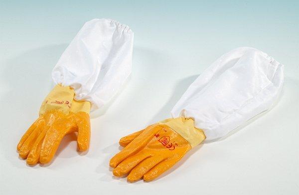 Rękawice gumowe z zarękawnikami