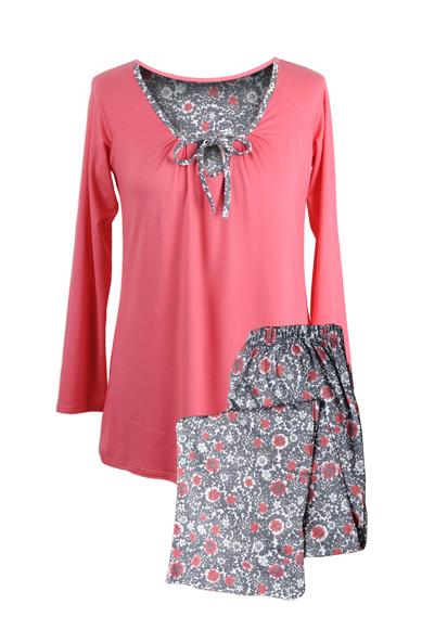 db6e1da4472506 Piżamy damskie bawełniane dwukolorowe kupić w Gadka Stara