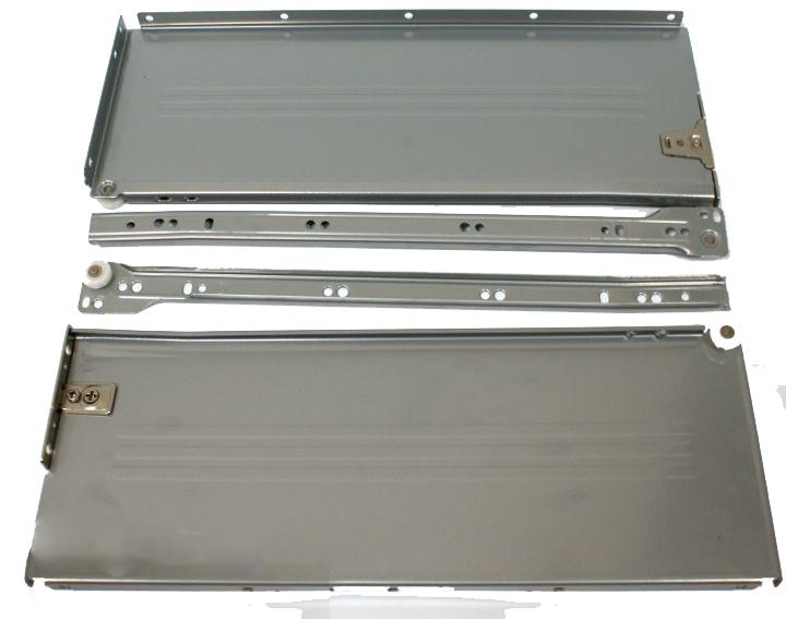 Kupić Komplet Metabox SPR 10150 H=150mm w kolorze szarym