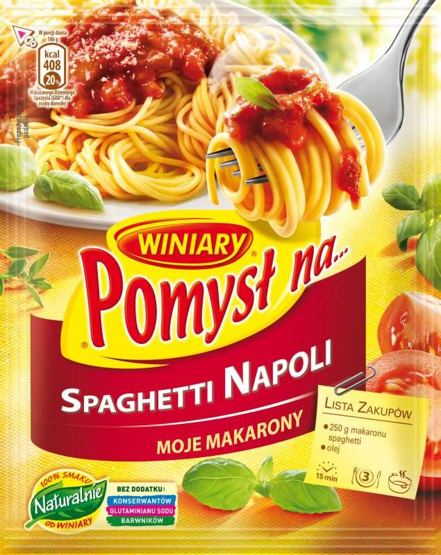 Kupić Winiary Pomysł na … spaghetti napoli