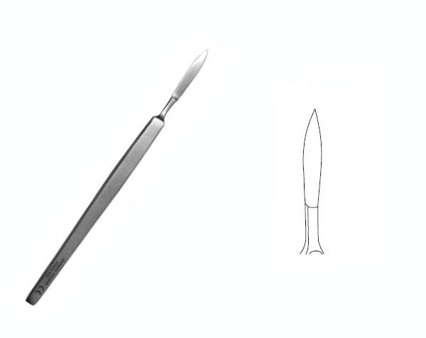 Kupić Nożyk do operacji powiek brzuszasty B-20; 120mm