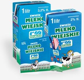 Kupić Mleka spożywcze