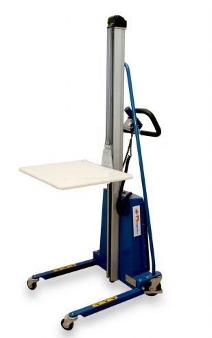Kupić Wózki podnośnikowe elektryczne platformowe