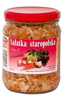 Kupić Sałatka staropolska w słoikach 500 ml.