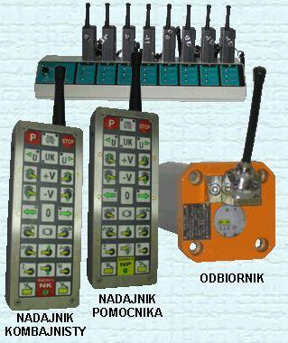 Kupić Radiosterowniki do maszyn górniczych